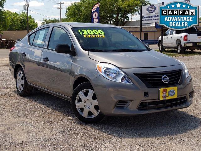 2014 Nissan Versa S Plus in Pleasanton, TX 78064