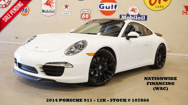 2014 Porsche 911 Carrera Coupe AUTO,NAV,HTD LTH,BLK 20'S,12K in Carrollton, TX 75006
