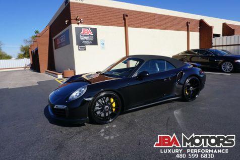 2014 Porsche 911 Turbo S Cabriolet Convertible Carrera $206k MSRP   MESA, AZ   JBA MOTORS in MESA, AZ