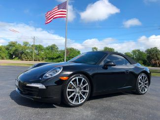 2014 Porsche 911 TRIPLE BLACK CABRIOLET PDK 125K NEW 20s   Florida  Bayshore Automotive   in , Florida