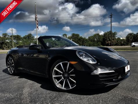 2014 Porsche 911 TRIPLE BLACK CABRIOLET PDK $125K NEW 20