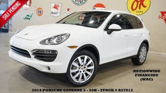 2014 Porsche Cayenne S AWD SUNROOF,NAV,BACK-UP,HTD/COOL LTH,BOSE,20'... in Carrollton TX, 75006