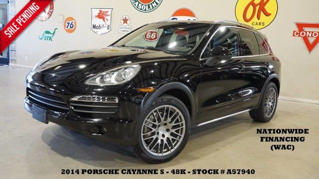 2014 Porsche Cayenne S AWD PANO ROOF,NAV,HTD/COOL LTH,6 DISK CD,BOSE...