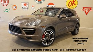 2014 Porsche Cayenne Turbo AWD ROOF,NAV,BACK-UP,HTD/COOL LTH,21'S,73K in Carrollton, TX 75006