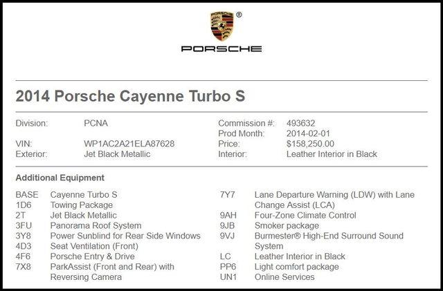 2014 Porsche Cayenne in Carrollton TX
