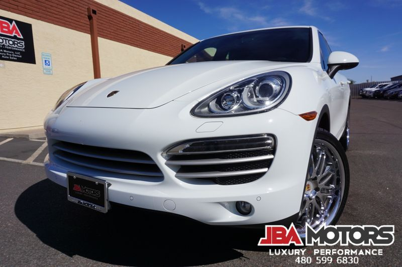 2014 Porsche Cayenne Platinum Edition AWD SUV ~ HUGE $70k MSRP | MESA, AZ | JBA MOTORS in MESA AZ
