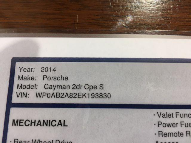 2014 Porsche Cayman S PDK in Boerne, Texas 78006