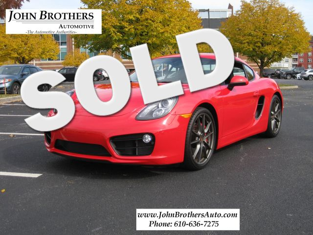 2014 Sold Porsche Cayman S Conshohocken, Pennsylvania 0