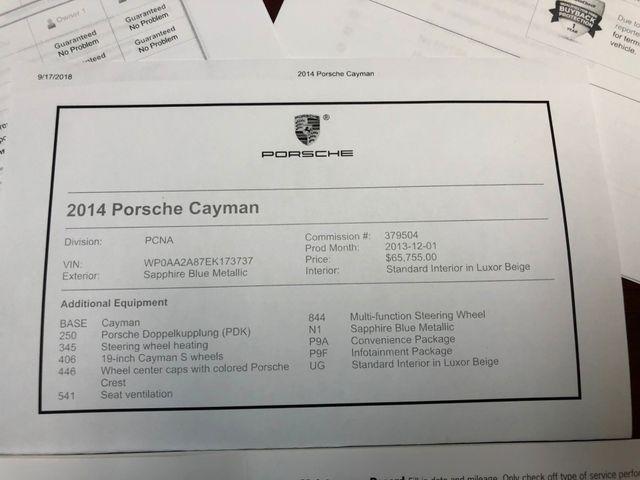 2014 Porsche Cayman Longwood, FL 36