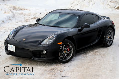 2014 Porsche Cayman S w/BBS Wheels, Premium Pkg, Navigation, BOSE Audio, Heated Sport Seats & Bi-Xenon Lighting in Eau Claire