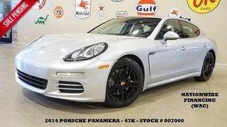 2014 Porsche Panamera 4 ROOF,NAV,BACK-UP,HTD/COOL LTH,BOSE,BLK WHLS,47K! in Carrollton TX, 75006