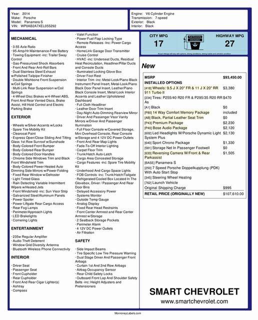 2014 Porsche Panamera S Madison, NC 50