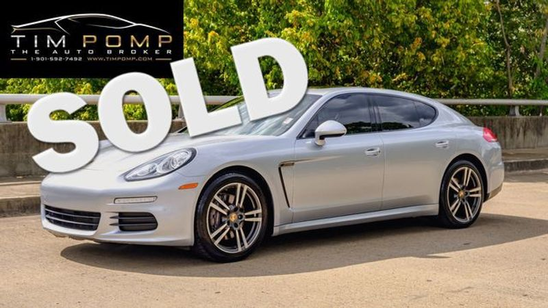 2014 Porsche Panamera SUNROOF LEATHER SEATS | Memphis, Tennessee | Tim Pomp - The Auto Broker in Memphis Tennessee