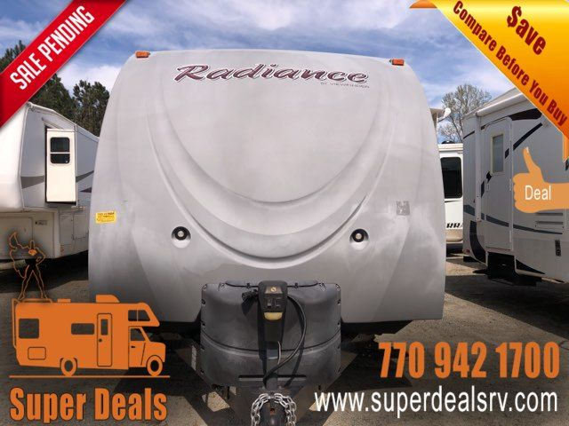 2014 -Cruiser Rv Radiance 31DSBH