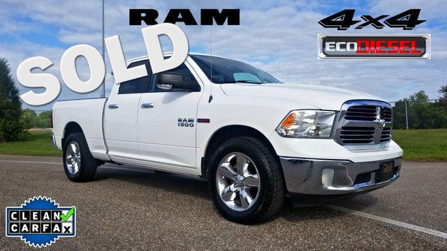2014 Ram 1500 Big Horn 4 DOOR CLEAN CARFAX ECO DIESEL 4X4 | Palmetto, FL | EA Motorsports in Palmetto FL