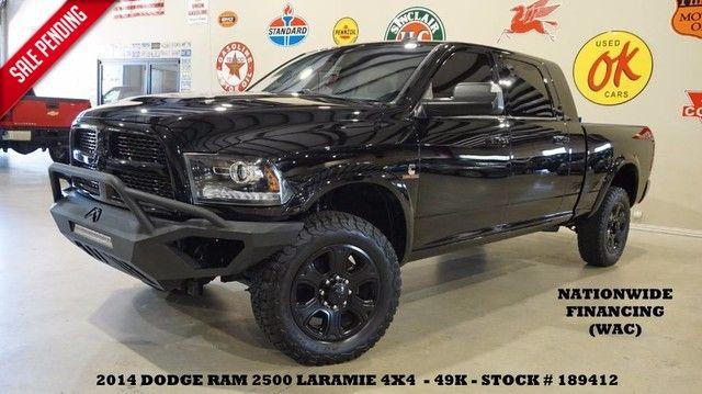 2014 Dodge RAM 2500 Laramie 4X4 DIESEL,NAV,BACK-UP,HTD/COOL LTH,49K!