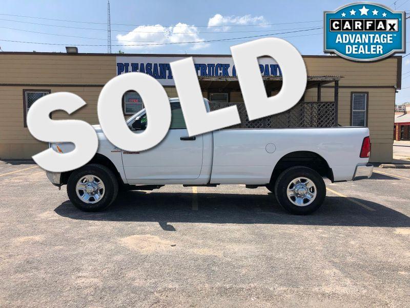 2014 Ram 2500 Tradesman   Pleasanton, TX   Pleasanton Truck Company in Pleasanton TX