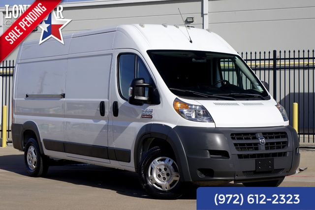2014 Ram 2500 ProMaster Cargo Van High Roof Diesel Clean Carfax Warranty in Plano, Texas 75093