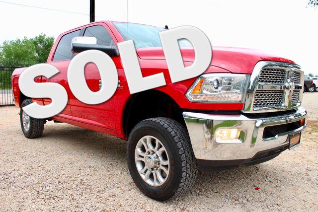 2014 Ram 2500 Laramie Crew Cab 4X4 6.7L Cummins Diesel Auto Sealy, Texas