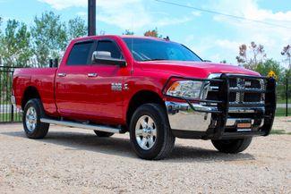 2014 Ram 2500 SLT Crew Cab 4X4 6.7L Cummins Diesel 6 Speed Manual Sealy, Texas 1