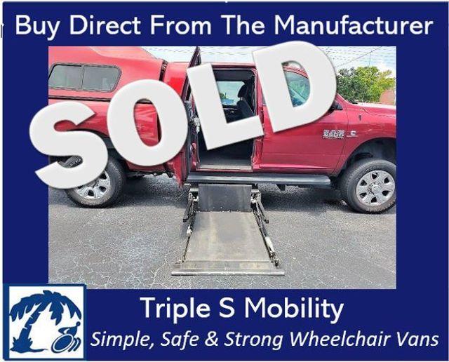 2014 Ram 3500 Big Horn Wheelchair Handicap Lift Ramp Pickup Truck