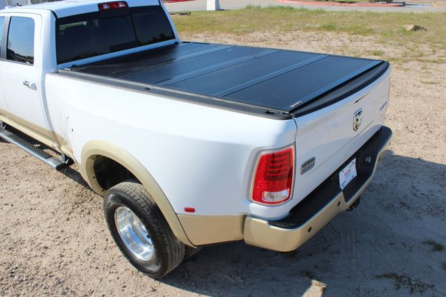2014 Ram 3500 LARAMIE PKG Longhorn Edition CREW CAB 4x4 Dually CONROE, TX 18