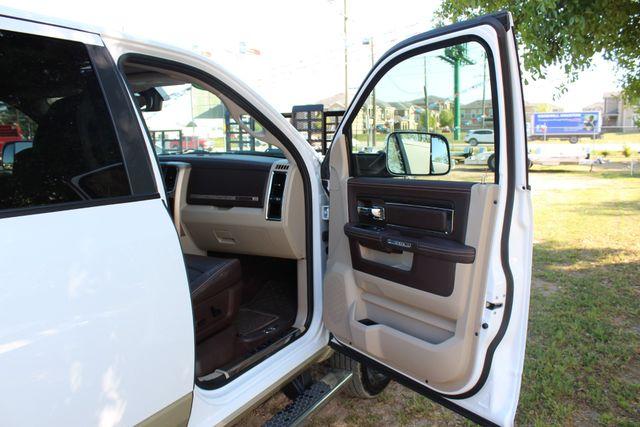 2014 Ram 3500 LARAMIE PKG Longhorn Edition CREW CAB 4x4 Dually CONROE, TX 35
