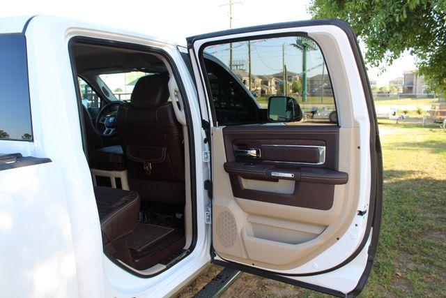 2014 Ram 3500 LARAMIE PKG Longhorn Edition CREW CAB 4x4 Dually CONROE, TX 41