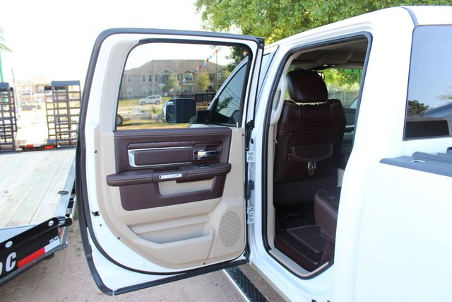 2014 Ram 3500 LARAMIE PKG Longhorn Edition CREW CAB 4x4 Dually CONROE, TX 44