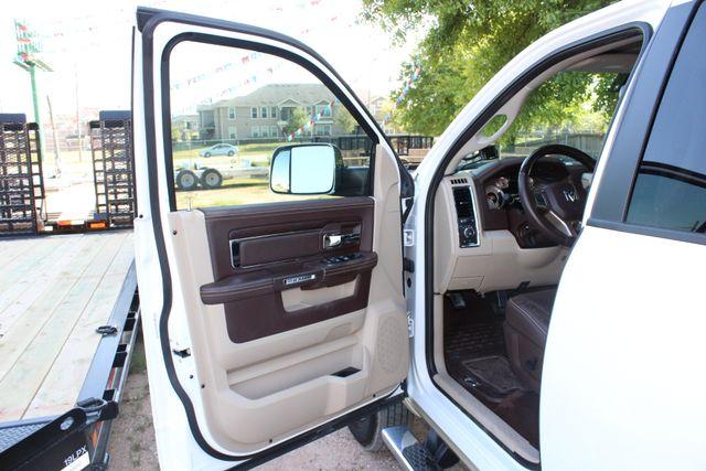 2014 Ram 3500 LARAMIE PKG Longhorn Edition CREW CAB 4x4 Dually CONROE, TX 50