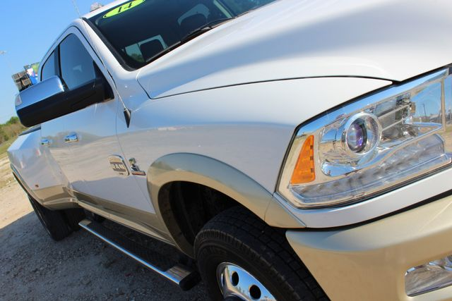 2014 Ram 3500 LARAMIE PKG Longhorn Edition CREW CAB 4x4 Dually CONROE, TX 3