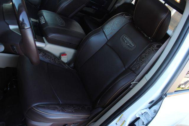 2014 Ram 3500 LARAMIE PKG Longhorn Edition CREW CAB 4x4 Dually CONROE, TX 53