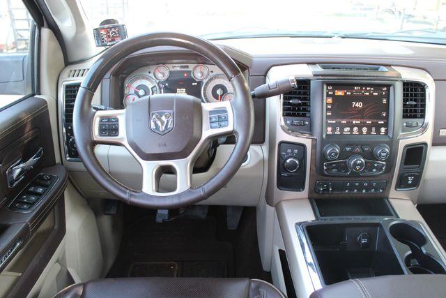 2014 Ram 3500 LARAMIE PKG Longhorn Edition CREW CAB 4x4 Dually CONROE, TX 56