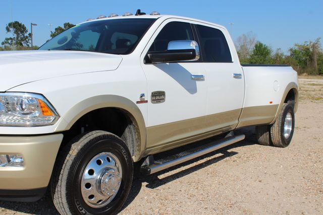 2014 Ram 3500 LARAMIE PKG Longhorn Edition CREW CAB 4x4 Dually CONROE, TX 8
