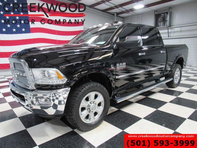 2014 Ram 3500 Dodge Longhorn Limited 4x4 Diesel Black Roof Nav 1 Owner