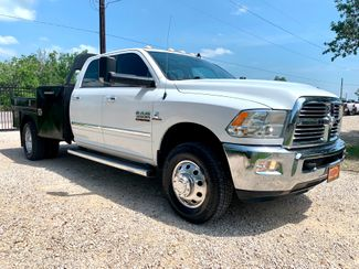 2014 Ram 3500 DRW Big Horn Crew Cab 4X4 6.7L Cummins Diesel 6 Speed Manual Flatbed in Sealy, Texas 77474