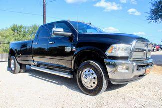 2014 Ram 3500 DRW Longhorn Laramie Crew Cab 4X4 6.7L Cummins Diesel Auto in Sealy, Texas 77474