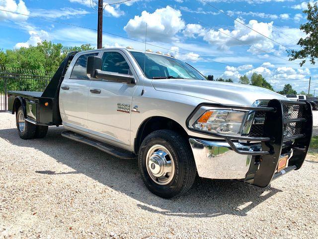 2014 Ram 3500 DRW Tradesman Crew Cab 2wd 6.7L Cummins Diesel Auto Flatbed in Sealy, Texas 77474