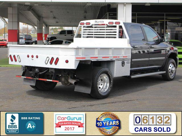 2014 Ram 3500 Laramie Crew Cab 4x4 - NAV - FLATBED/HAULER! Mooresville , NC 2