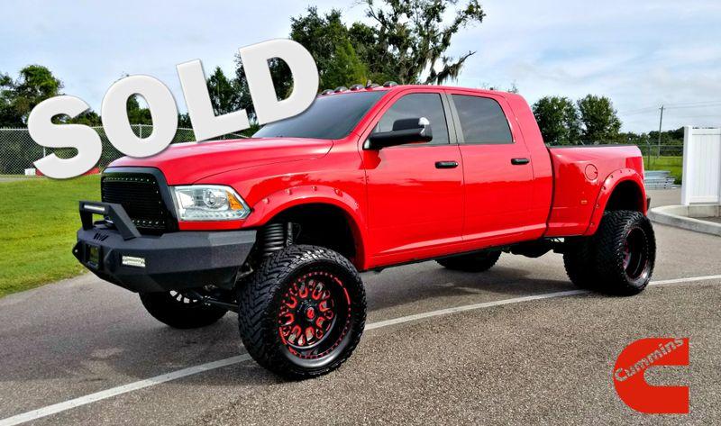 2014 Ram 3500 Laramie megacab 4x4 LIFTED CLEAN CARFAX | Palmetto, FL | EA Motorsports in Palmetto FL