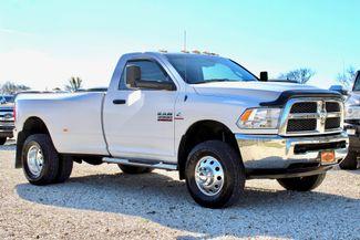 2014 Ram 3500 DRW Tradesman Regular Cab 4x4 6.7L Cummins Diesel Auto Sealy, Texas 1