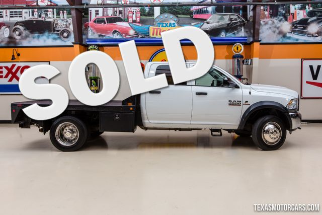 2014 Ram 4500 Tradesman 4X4 Flatbed Dually
