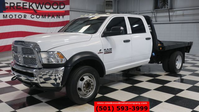 2014 Ram 4500 Dodge 4x4 Diesel Dually Utility Flatbed 1 Owner Aisin