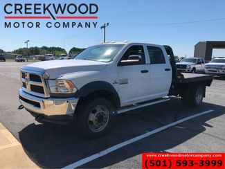 2014 Ram 4500 Dodge 4x4 Diesel Dually Utility Flatbed 1 Owner White in Searcy, AR 72143