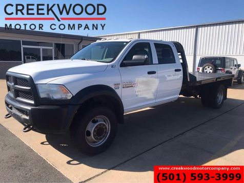 2014 Ram 5500 Dodge Tradesman 4x4 6.4 Hemi Gas Utility Flatbed 1 Owner in Searcy, AR