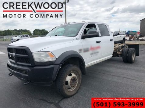 2014 Ram 5500 Dodge Tradesman 4x4 6.4 Hemi Gas Cab Chassis Crew 1Owner in Searcy, AR