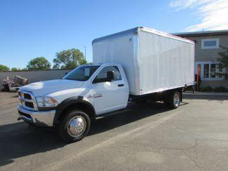 2014 Ram Dodge 5500 4x2 W/16' Dry Van Body in St Cloud, MN