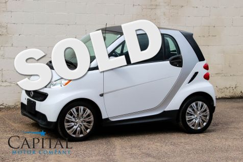 2014 Smart Fortwo Pure Coupe w/Heated Seats, Auto Climate Control, Bluetooth Audio and GREAT MPGs in Eau Claire