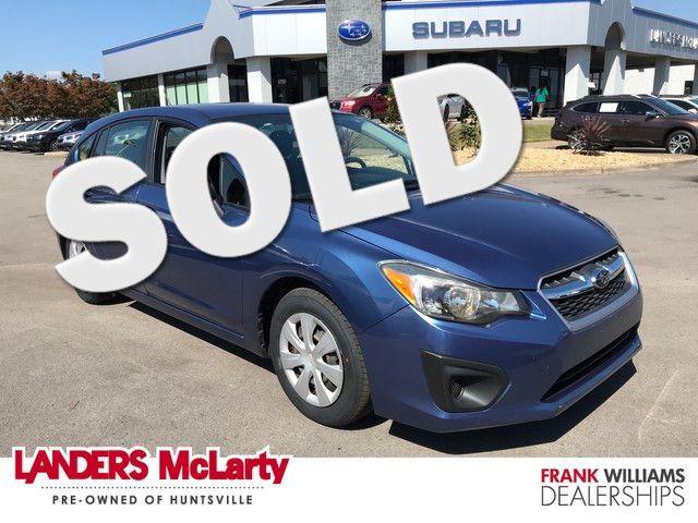 2014 Subaru Impreza 2.0i | Huntsville, Alabama | Landers Mclarty DCJ & Subaru in  Alabama