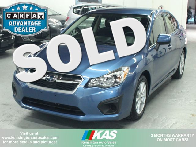 2014 Subaru Impreza 2.0i Premium Kensington, Maryland